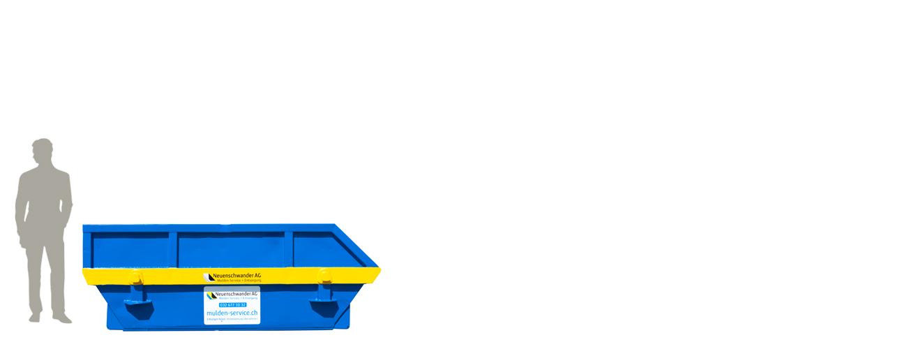Mini-Allzweckmulde 3m3